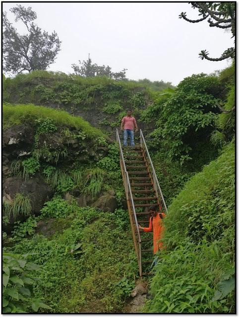 mahuli fort, trek route to mahuli fort