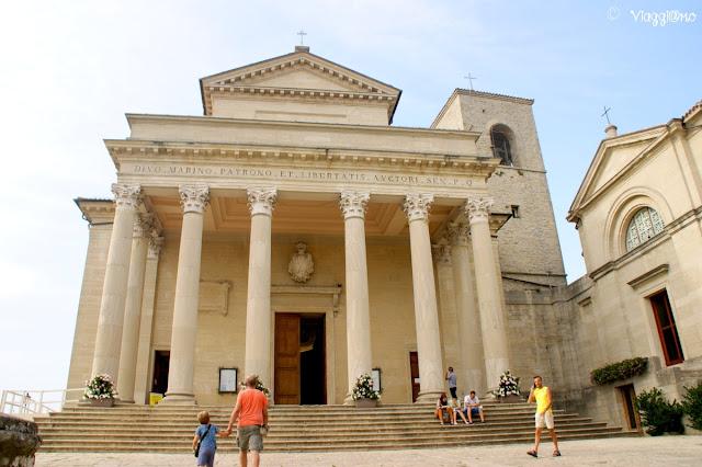Il Duomo di San Marino è dedicato al Santo omonimo