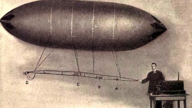 Improved Airship Nikola Tesla