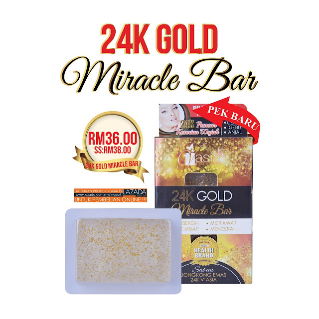 24k gold miracle bar v'asia
