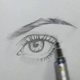 مدونة أرسم بالرصاص أرسم بالرصاص تعلم طريقة رسم الحواجب خطوة بخطوة