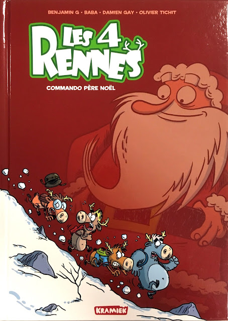 Les 4 Rennes - Commando Père Noël
