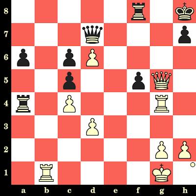 Les Blancs jouent et matent en 4 coups - Mojsesz Lowtzky vs Anton Olson, Hambourg, 1910