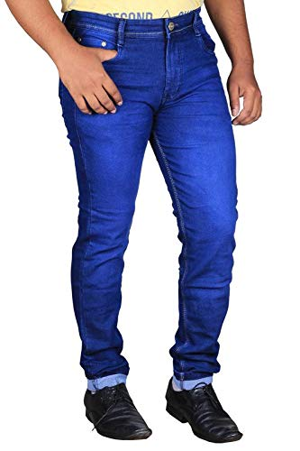 Lzard Men's Slim Fit Denim Jeans