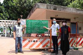 守護市民安全 林祈烽議員爭取西屯福星公園裝修廁所、加裝監視器