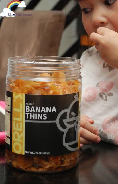 Orell's Banana Thins