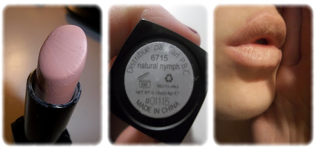 Swatch Rouge à Lèvre d'elf Minéral - elf - Teinte Natural Nymph