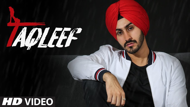 Taqleef Song Poster