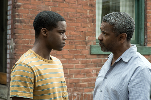 Jovan Adepo, Denzel Washington, Fences, film, family, father and son