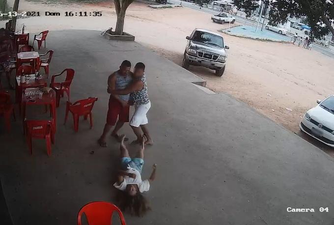 Mulher desmaia após ser agredida com soco no rosto por ex-companheiro em Araci