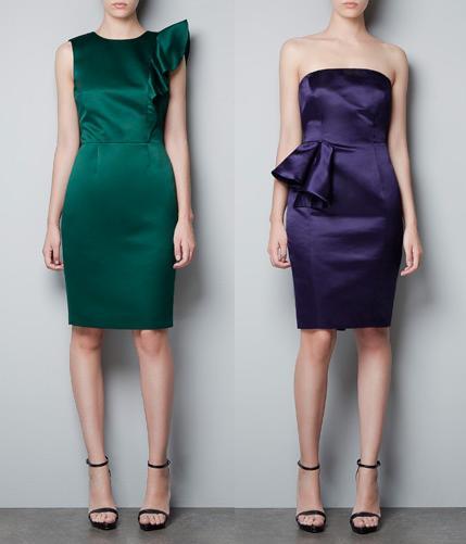 vestidos de zara otroño/invierno 2012 2013
