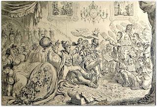 Captura de Buenos Aires - James Gillray (1806), Museo do Humor, Buenos Aires