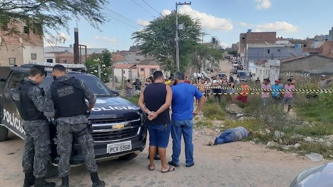 PLANTÃO- Homicídio registrado no bairro São João da Escócia em Caruaru