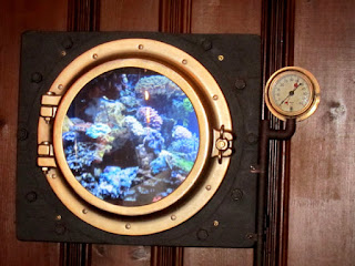 Steampunk Under Water Deep Sea Porthole