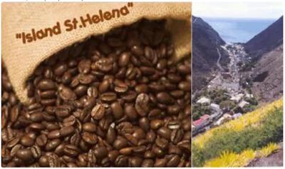 "Kopi ""Island"" Dari St Helena Coffee Company - Pulau St Helena."