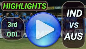 IND vs AUS 3rd ODI 2020
