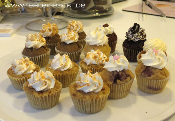 Mini-Cupcakes im Cupcake-Café Heavenly Delight in Frankfurt-Sachsenhausen | Foodblog rehlein backt