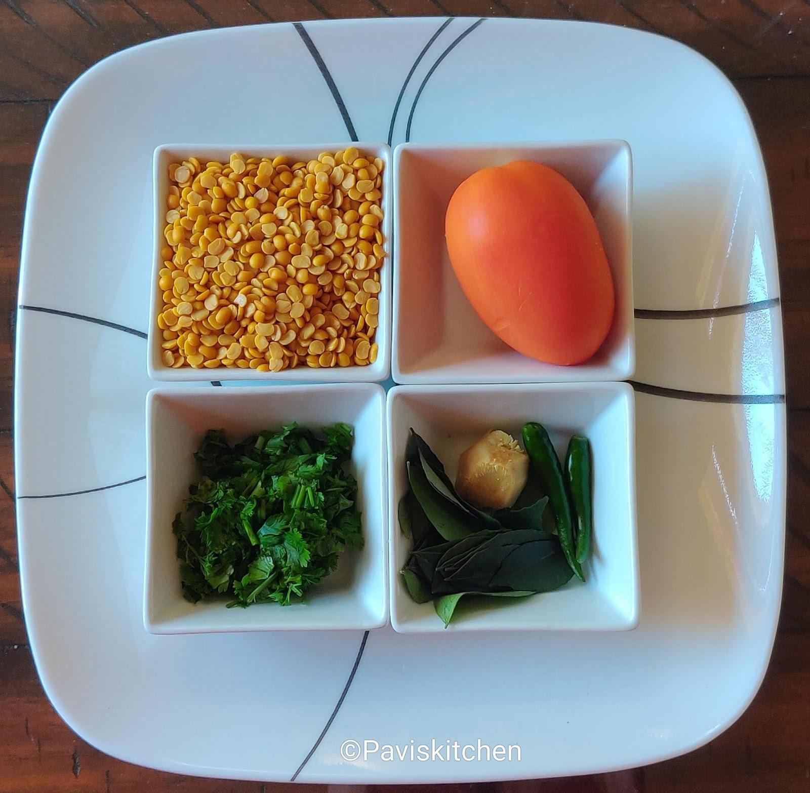 Karnataka Bele Saaru / Tovve Recipe / Dal Rasam