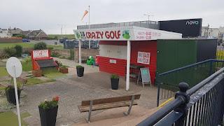 The Prestatyn Crazy Golf course