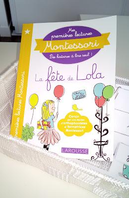 mes premières lectures montessori larousse maternelle école à la maison ief