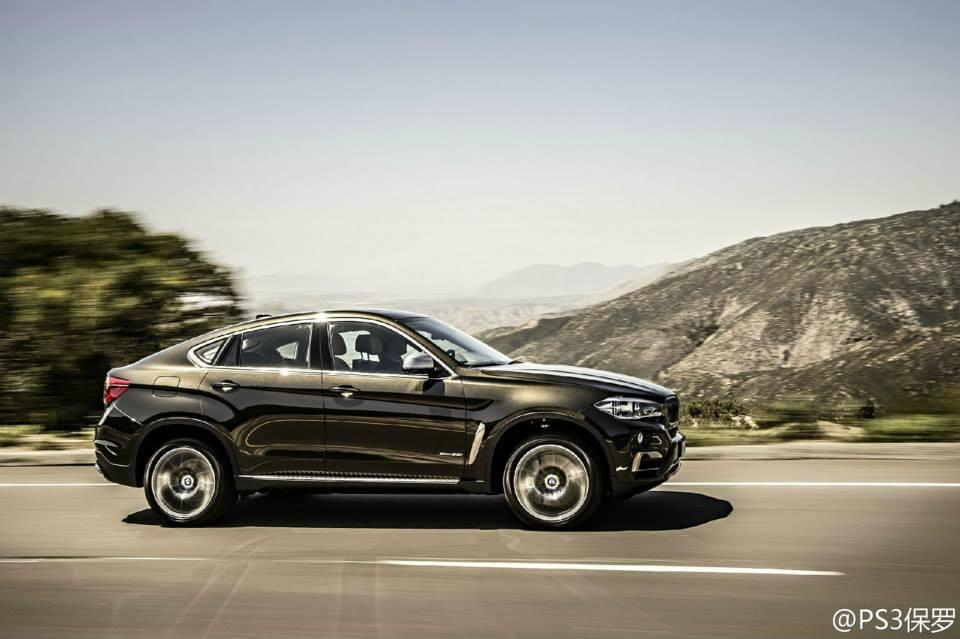 New BMW X6 Photos