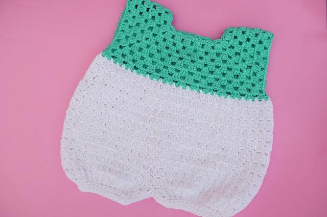 6 - Crochet Imagen Pantalones para canesú vintage a crochet y ganchillo Majovel Crocher facil sencillo DIY paso a paso