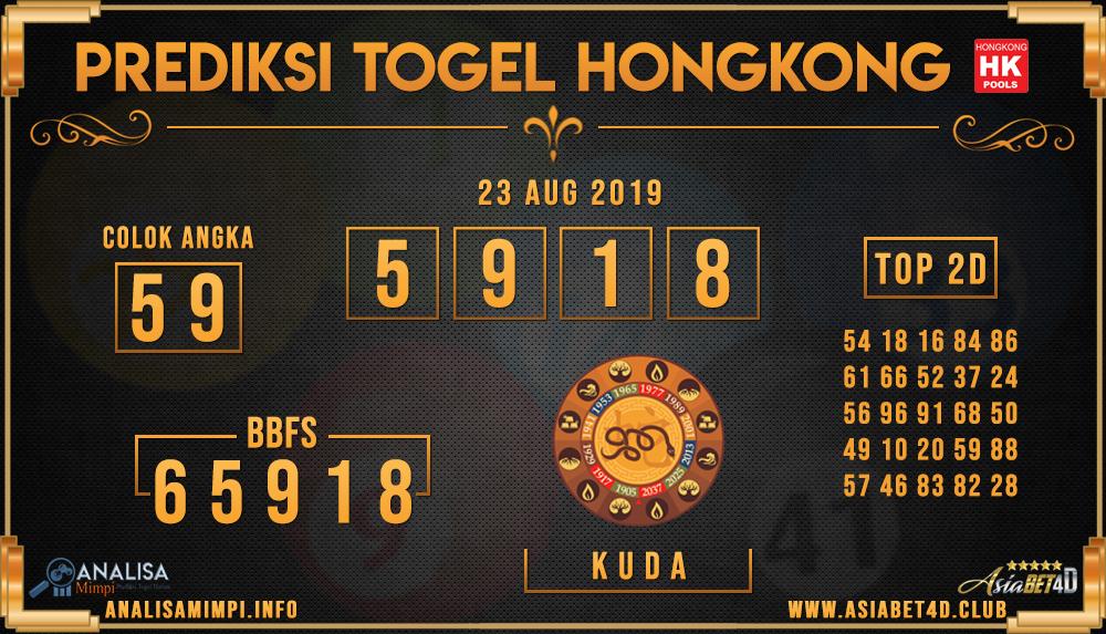 PREDIKSI TOGEL HONGKONG ASIABET4D 23 AUG 2019