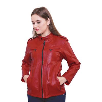 Jaket Semi Kulit Wanita Catenzo RC 111