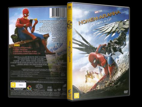 Capa DVD Homem-Aranha: De Volta ao Lar
