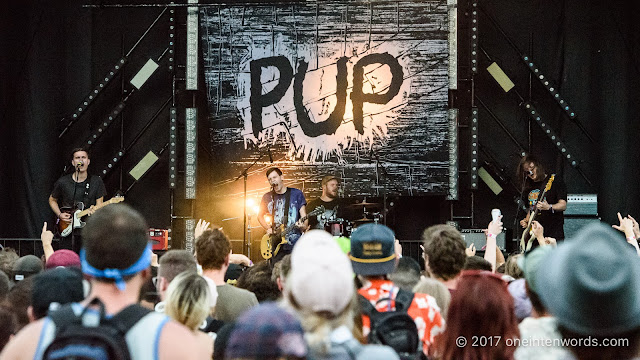 Pup at Osheaga on August 5, 2017 Photo by John at One In Ten Words oneintenwords.com toronto indie alternative live music blog concert photography pictures photos