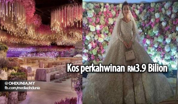 Kos Perkahwinan Anak Jutawan Rusia Ini Bernilai RM3.9 Bilion!..