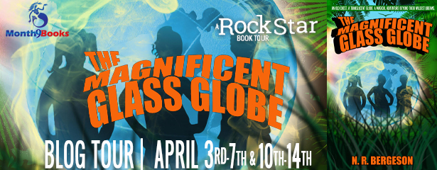 The Magnificent Glass Globe by N. R. Bergeson | Blog Tour | Book Review by iamnotabookworm