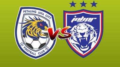 Live Streaming PJ City FC vs JDT Piala Malaysia 13.9.2019