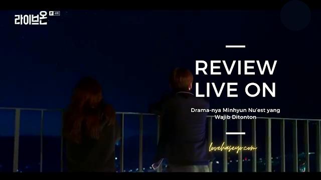 Drama Korea 2020 Live On Minhyun Nu'est Jung Da Bin