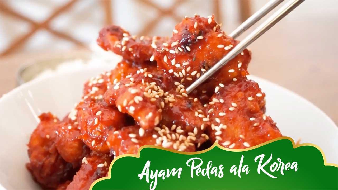 Resep Ayam Pedas Viral dari Korea