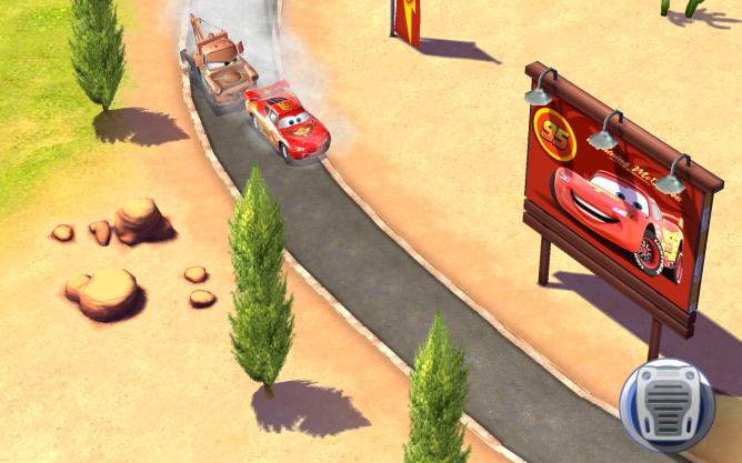 Cars, rapidos como el rayo gratis en tu móvil o tablet
