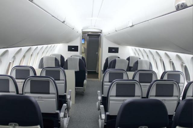 Airbus A318 Interior