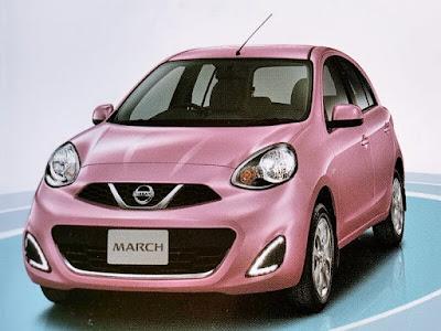 Gambar Spesifikasi Nissan March 1.2L M/T