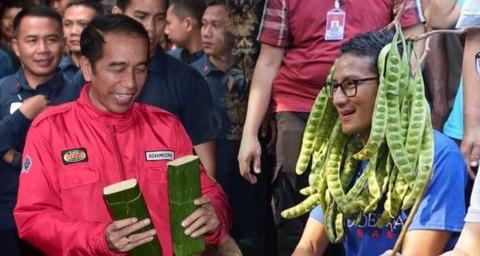 PAN: Jokowi Tiru Kampanye Sandi, Pegang Tempe Sampai Pete