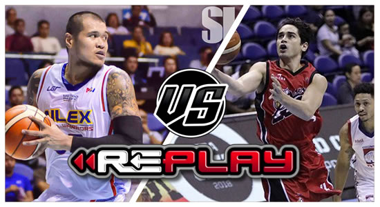 REPLAY: NLEX vs Alaska 2019 PBA Philippine Cup
