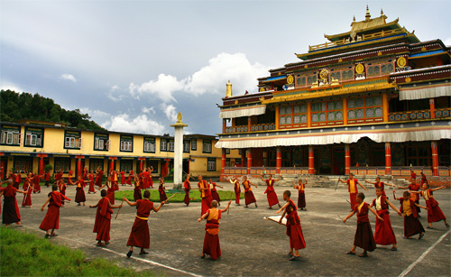 Cultural events in sikkim monasteries