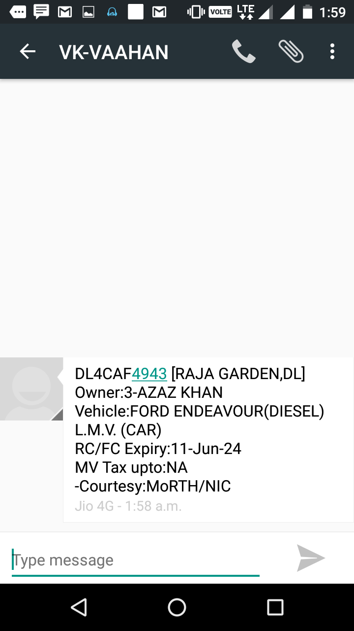 trace vehicle number with owner name and address ~ Loots ...