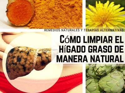 Limpiar el Hígado Graso de Manera Natural con estas 5 plantas como el Diente de León
