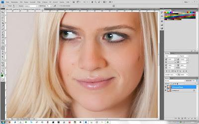 Nachbelichter-Werkzeug - Photoshop - Schritt 2