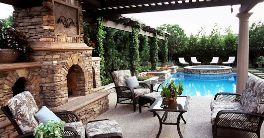 Patio Ideas Designs with Authentic Decoration