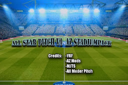 All Star Pitch x YRF v11 (AZ Stadium Pack) - PES 2017