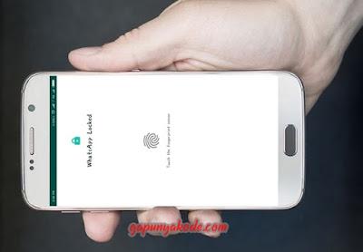 Cara Mengatur Privacy Kunci Whatsapp (WA) Menggunakan Fingerprint Lock Terbaru