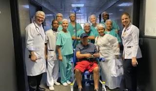 Pacientes curados de Covid-19 na Bahia