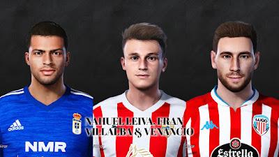 PES 2021 Facepack La Liga SmartBank Vol 7 by Dani