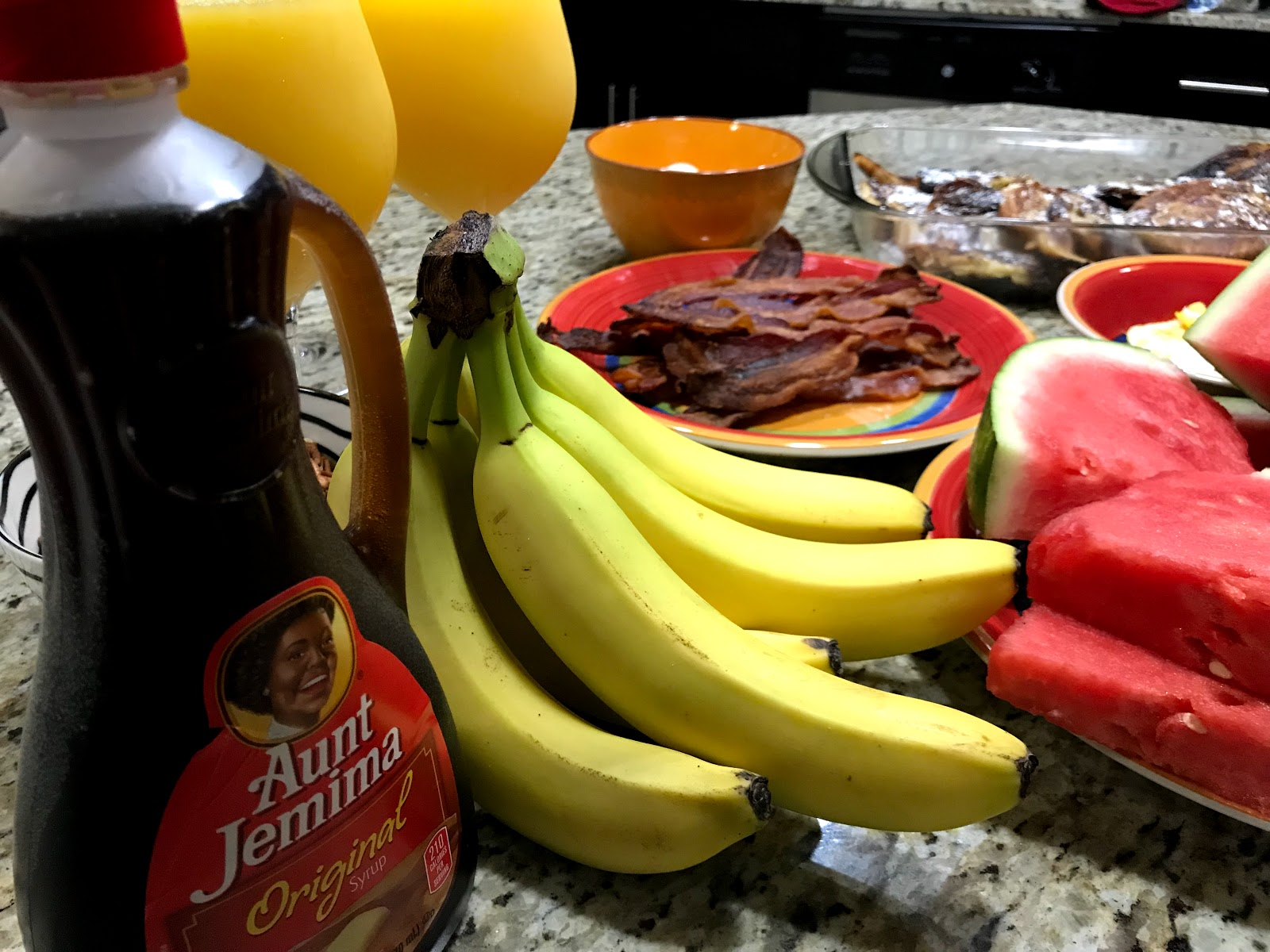 Image: Tangie Bell is sharing her morning breakfast seen first on bits and babbles blog. Sharing motivational morning with real weekend feelings. Making french toast recipe